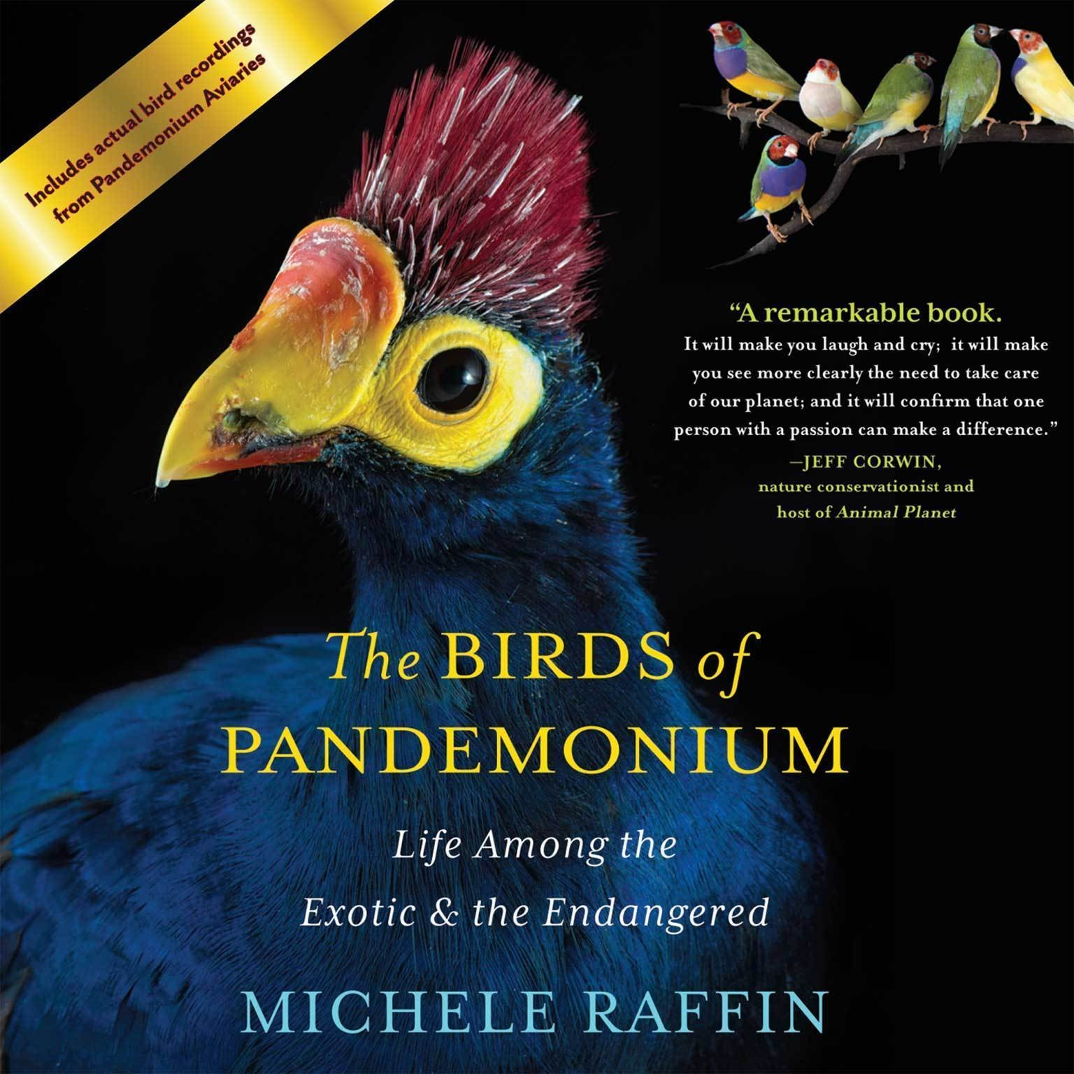 Printable The Birds of Pandemonium: Life Among the Exotic and the Endangered Audiobook Cover Art