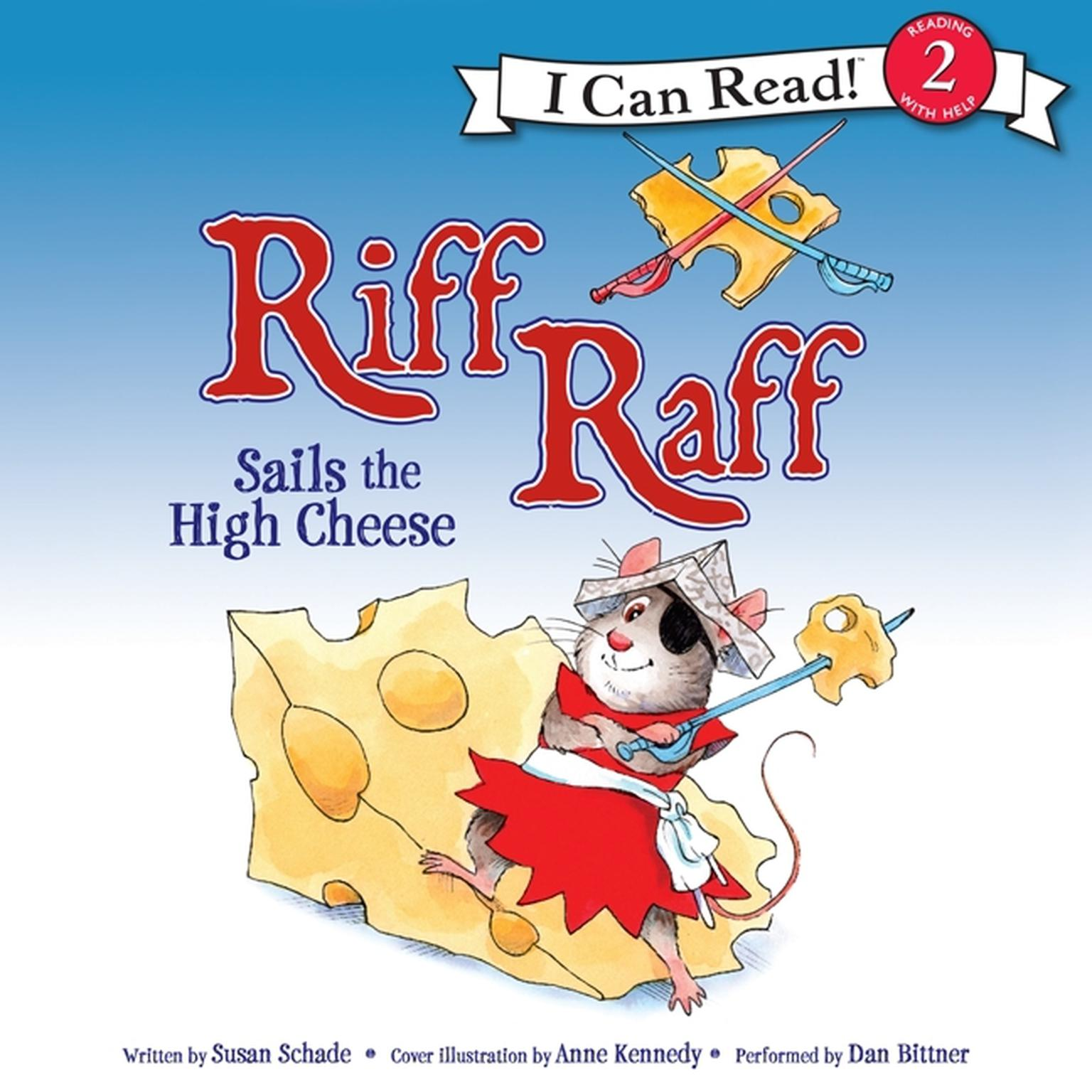 Printable Riff Raff Sails the High Cheese Audiobook Cover Art