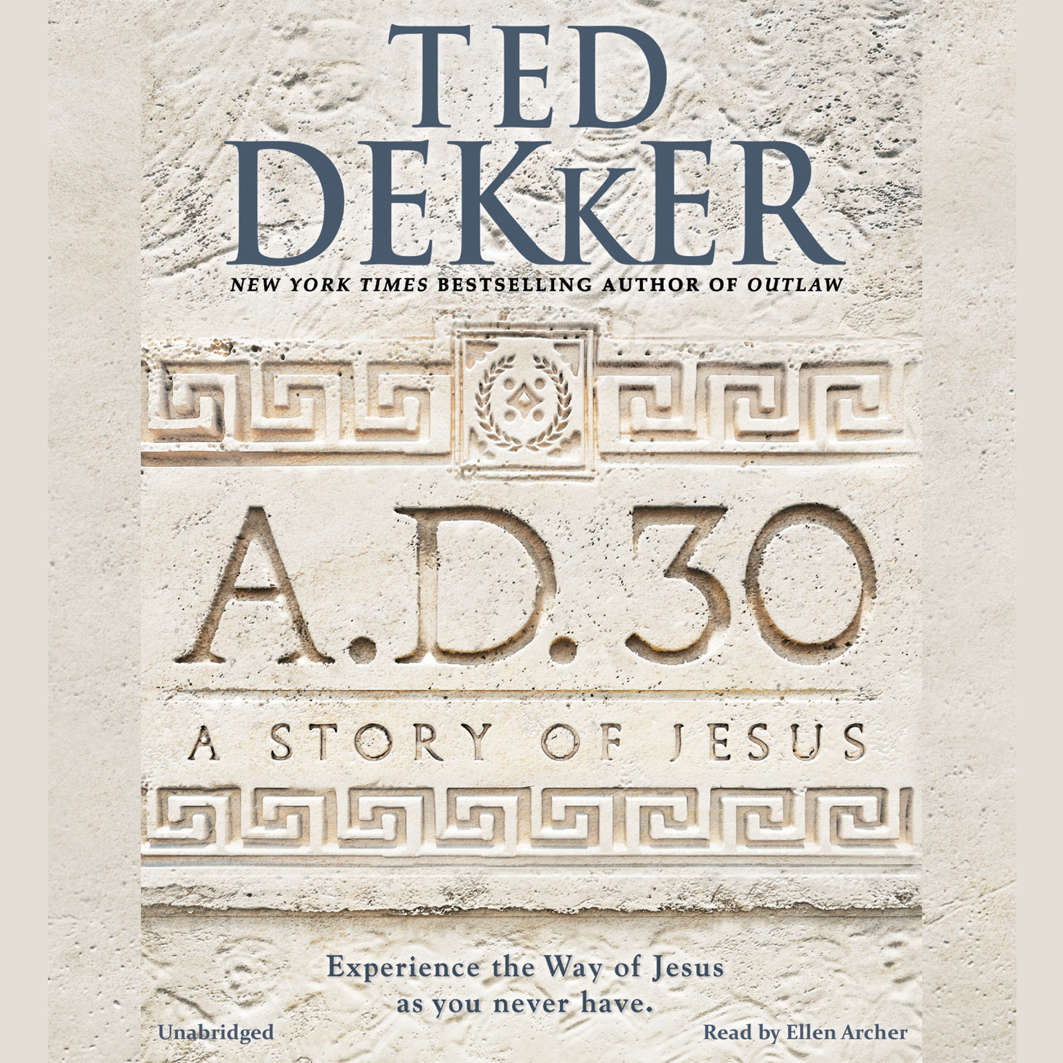 Printable A.D. 30: A Novel Audiobook Cover Art