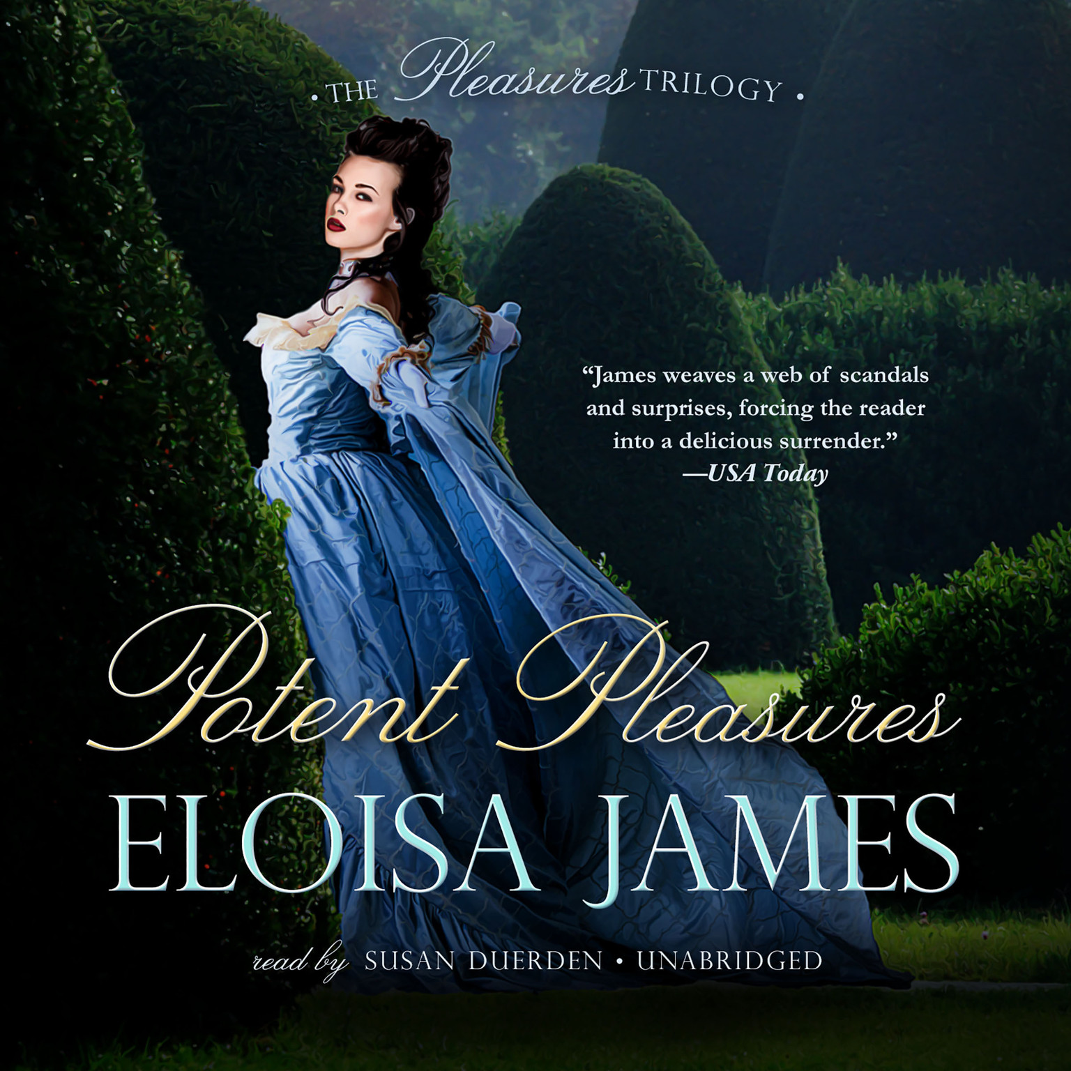 Printable Potent Pleasures Audiobook Cover Art