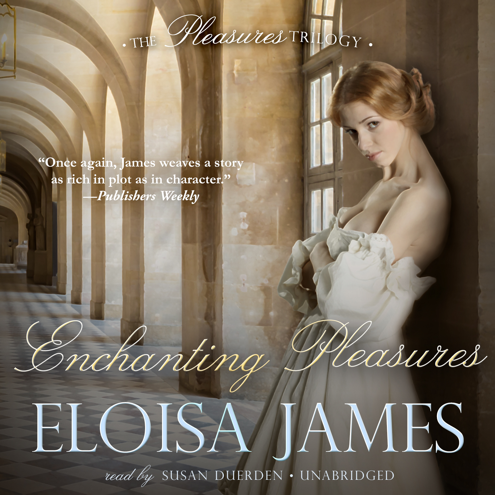 Printable Enchanting Pleasures Audiobook Cover Art