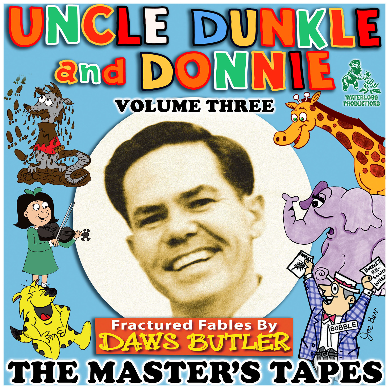 Printable Uncle Dunkle and Donnie, Vol. 3: The Master's Tapes Audiobook Cover Art