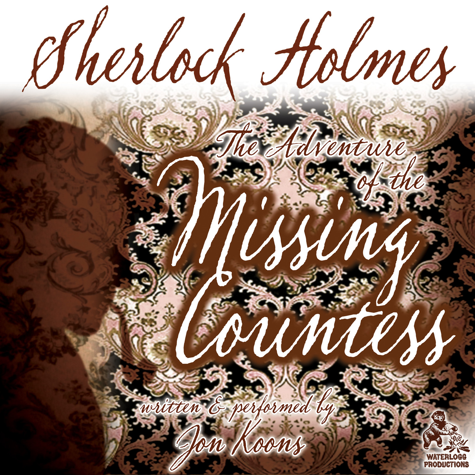 Printable Sherlock Holmes and the Adventure of the Missing Countess Audiobook Cover Art