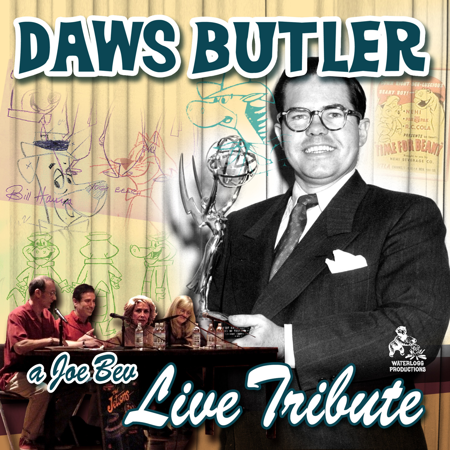 Printable A Joe Bev Live Tribute to Daws Butler Audiobook Cover Art