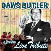 A Joe Bev Live Tribute to Daws Butler Audiobook, by Joe Bevilacqua