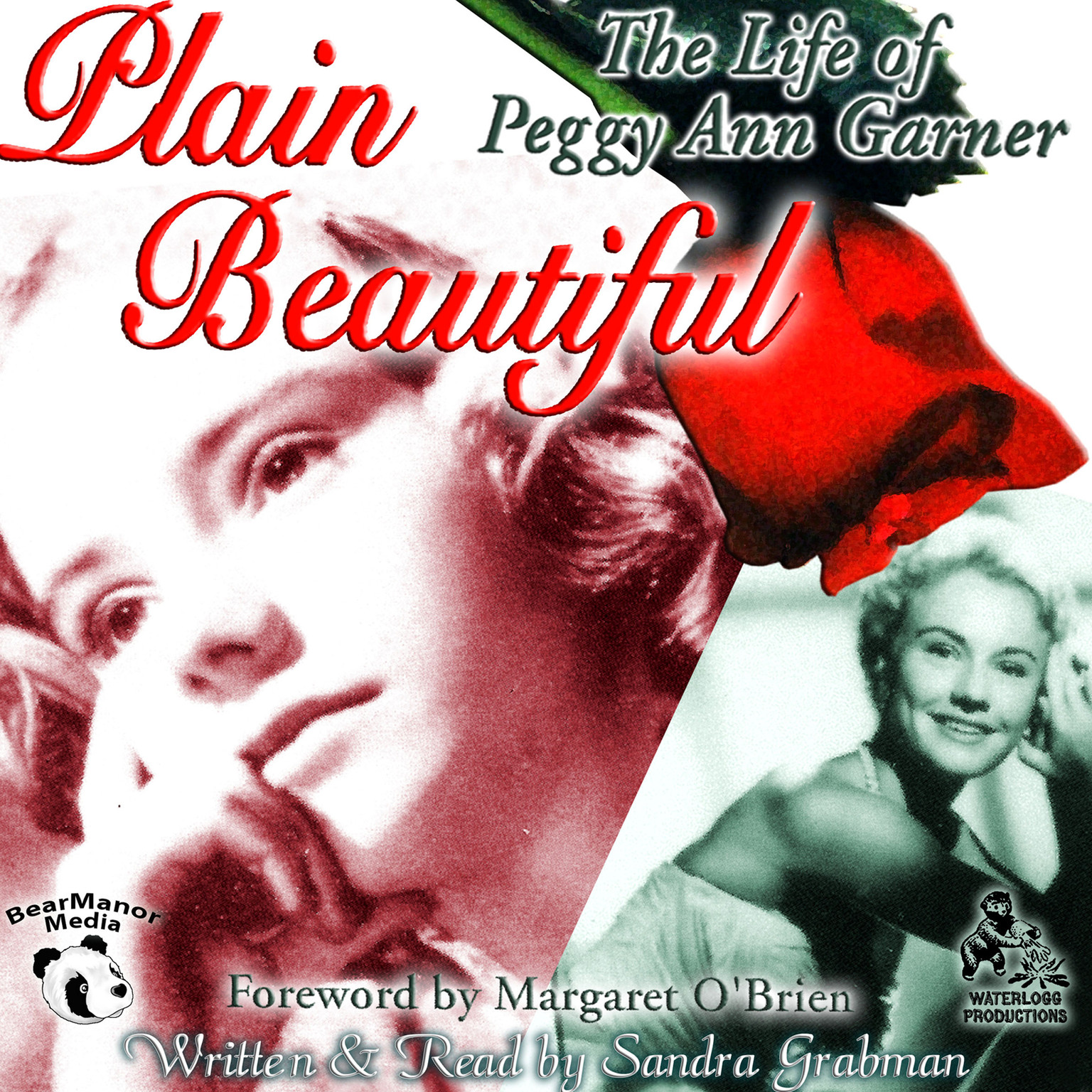 Printable Plain Beautiful: The Life of Peggy Ann Garner Audiobook Cover Art