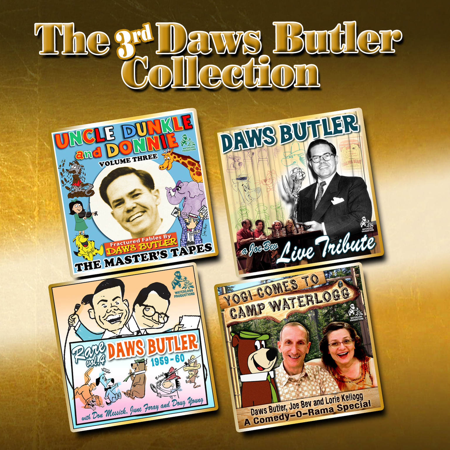 Printable The 3rd Daws Butler Collection: Incredibly More from the Voice of Yogi Bear Audiobook Cover Art