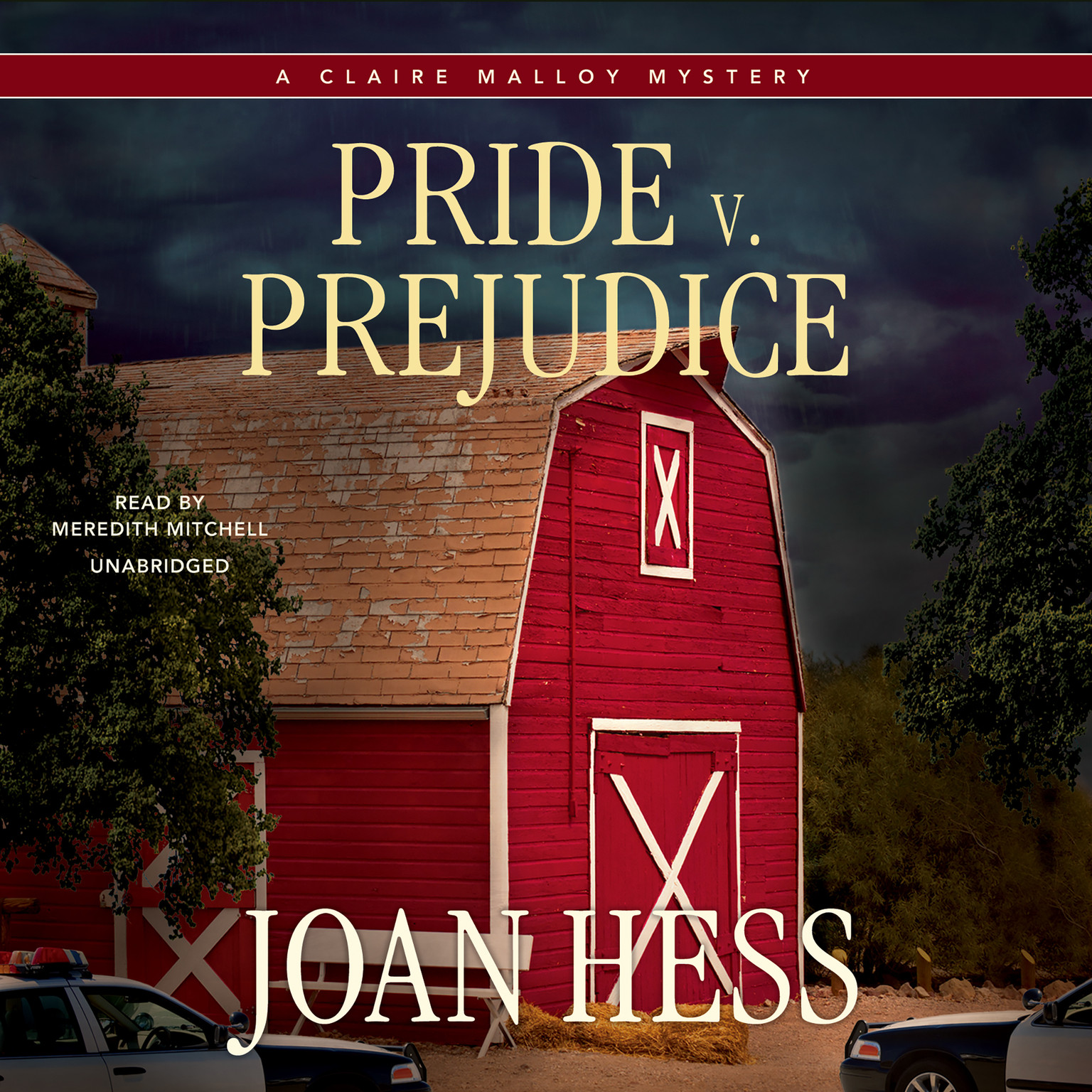 Printable Pride v. Prejudice Audiobook Cover Art