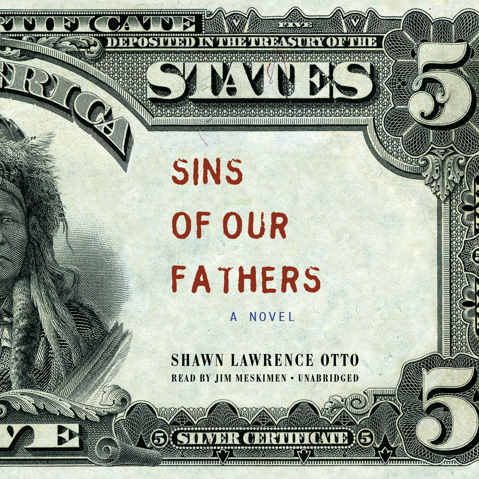 Printable Sins of Our Fathers: A Novel Audiobook Cover Art