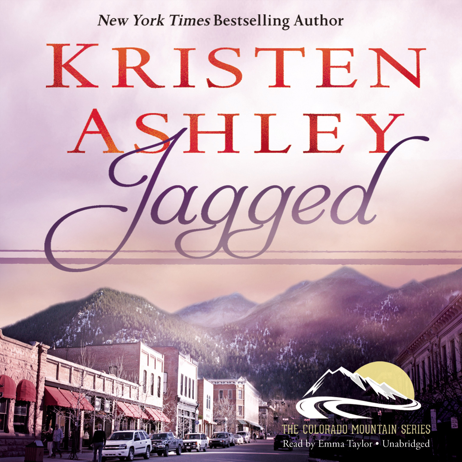 Printable Jagged Audiobook Cover Art