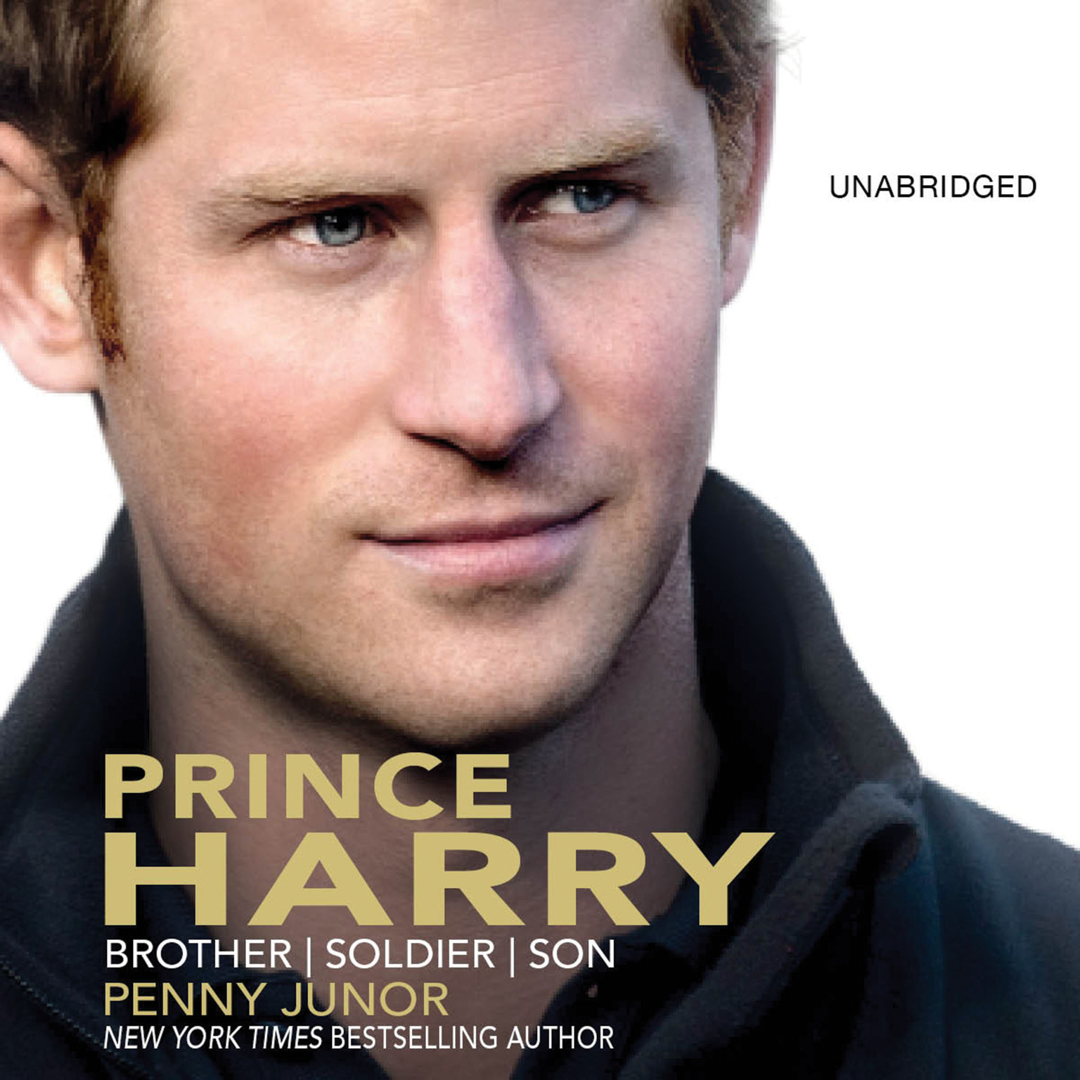 Printable Prince Harry: Brother, Soldier, Son Audiobook Cover Art