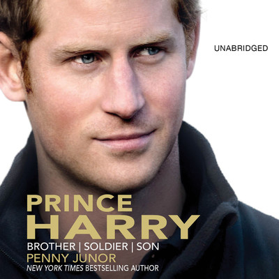 Prince Harry: Brother, Soldier, Son Audiobook, by Penny Junor