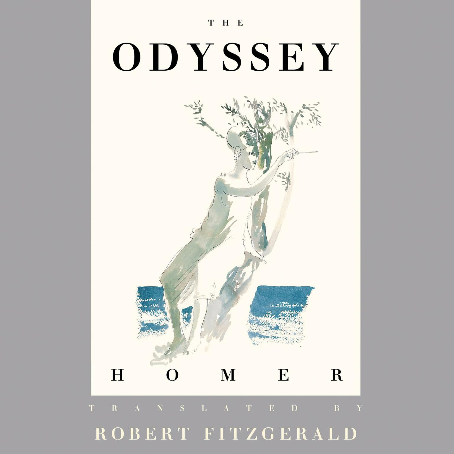 Printable The Odyssey: The Fitzgerald Translation Audiobook Cover Art