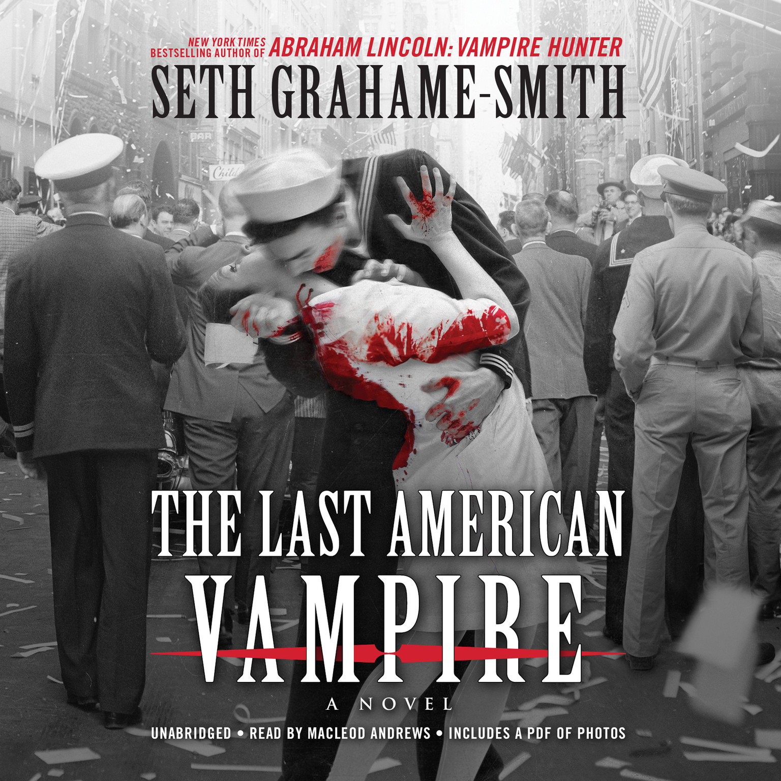 Printable The Last American Vampire Audiobook Cover Art
