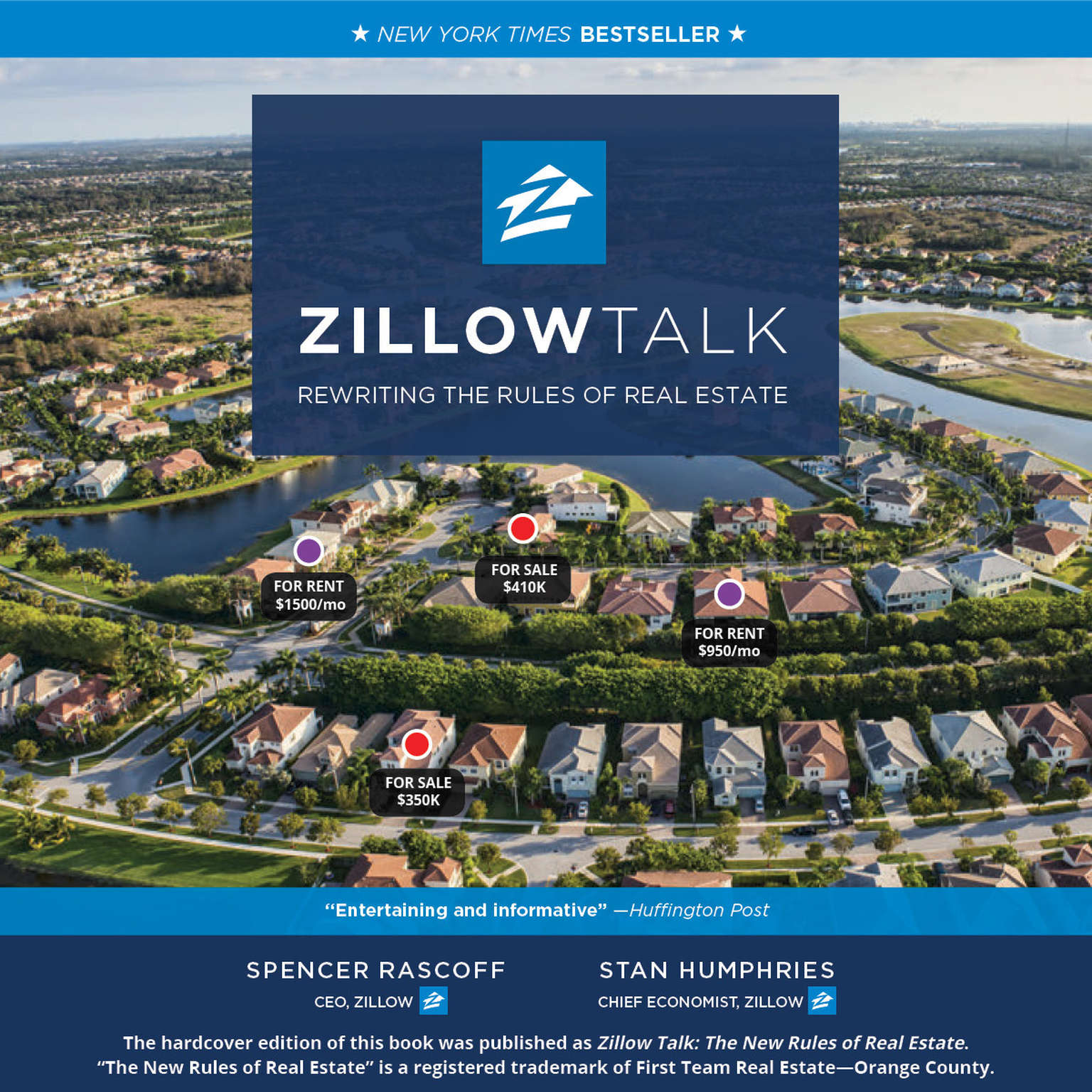 Printable Zillow Talk: Rewriting the Rules of Real Estate Audiobook Cover Art