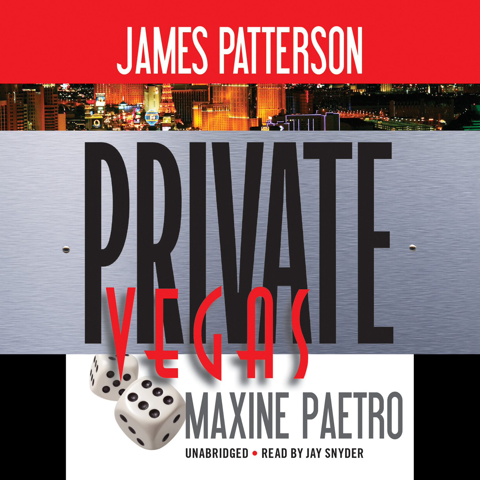 Printable Private Vegas Audiobook Cover Art
