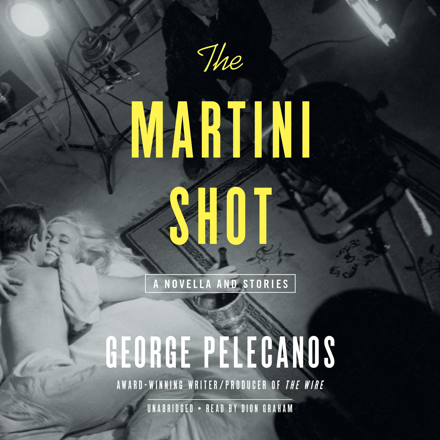 Printable The Martini Shot: A Novella and Stories Audiobook Cover Art