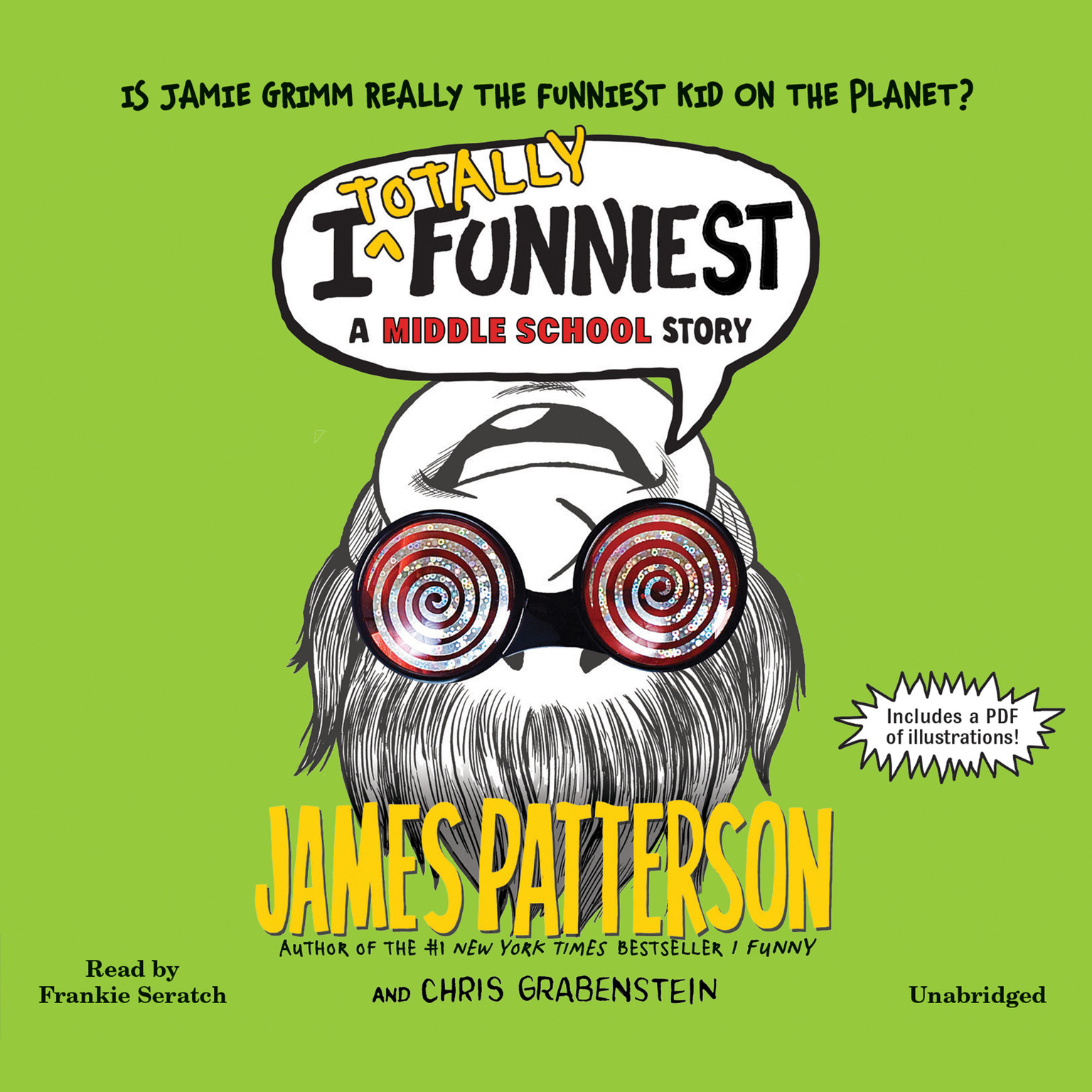 Printable I Totally Funniest: A Middle School Story Audiobook Cover Art