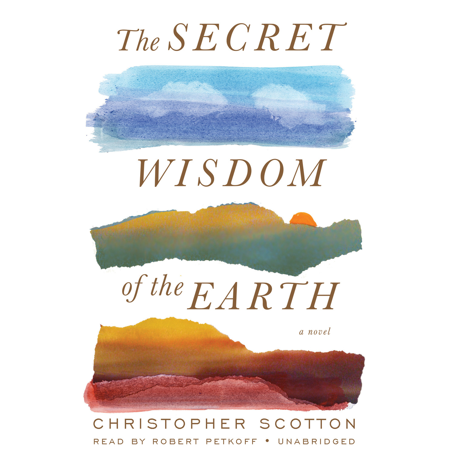 Printable The Secret Wisdom of the Earth Audiobook Cover Art