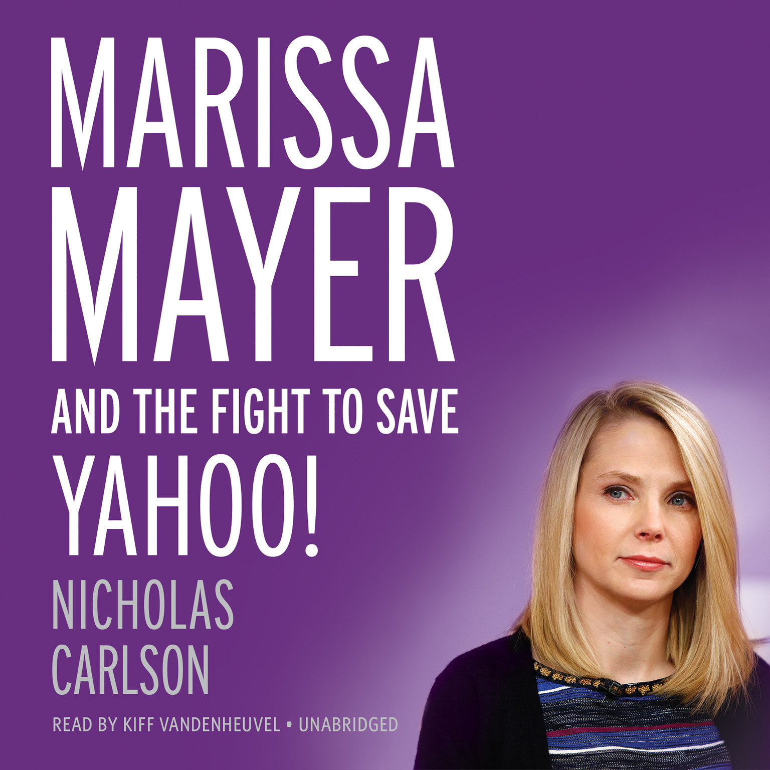 Printable Marissa Mayer and the Fight to Save Yahoo! Audiobook Cover Art