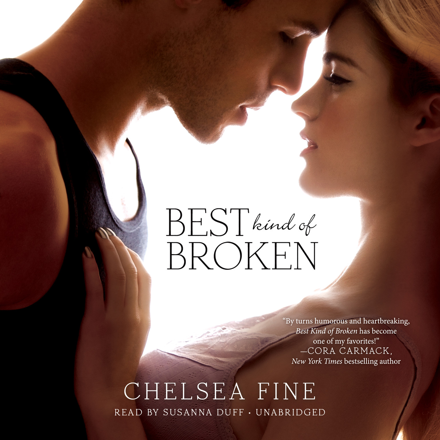 Printable Best Kind of Broken Audiobook Cover Art