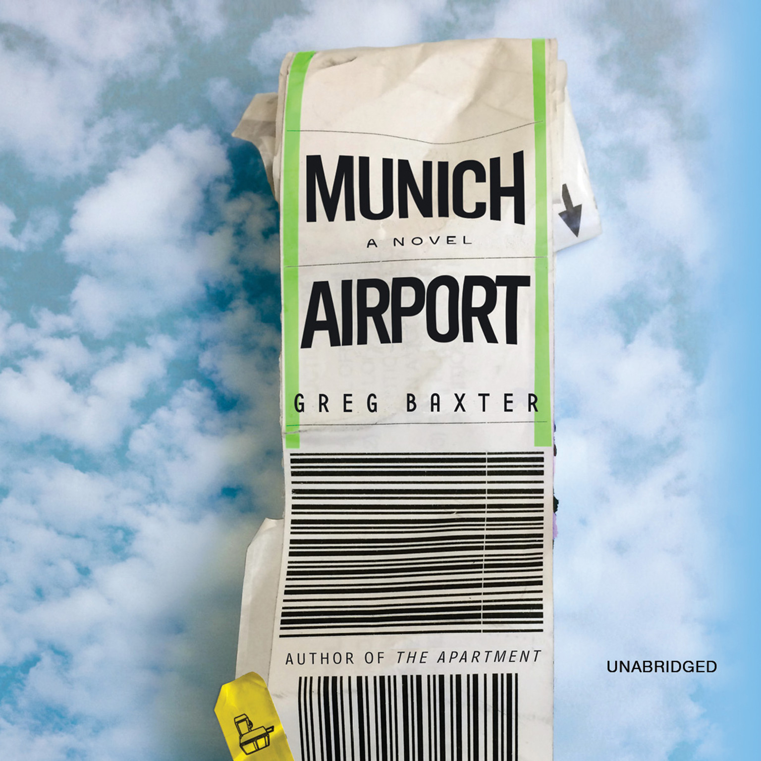 Printable Munich Airport: A Novel Audiobook Cover Art