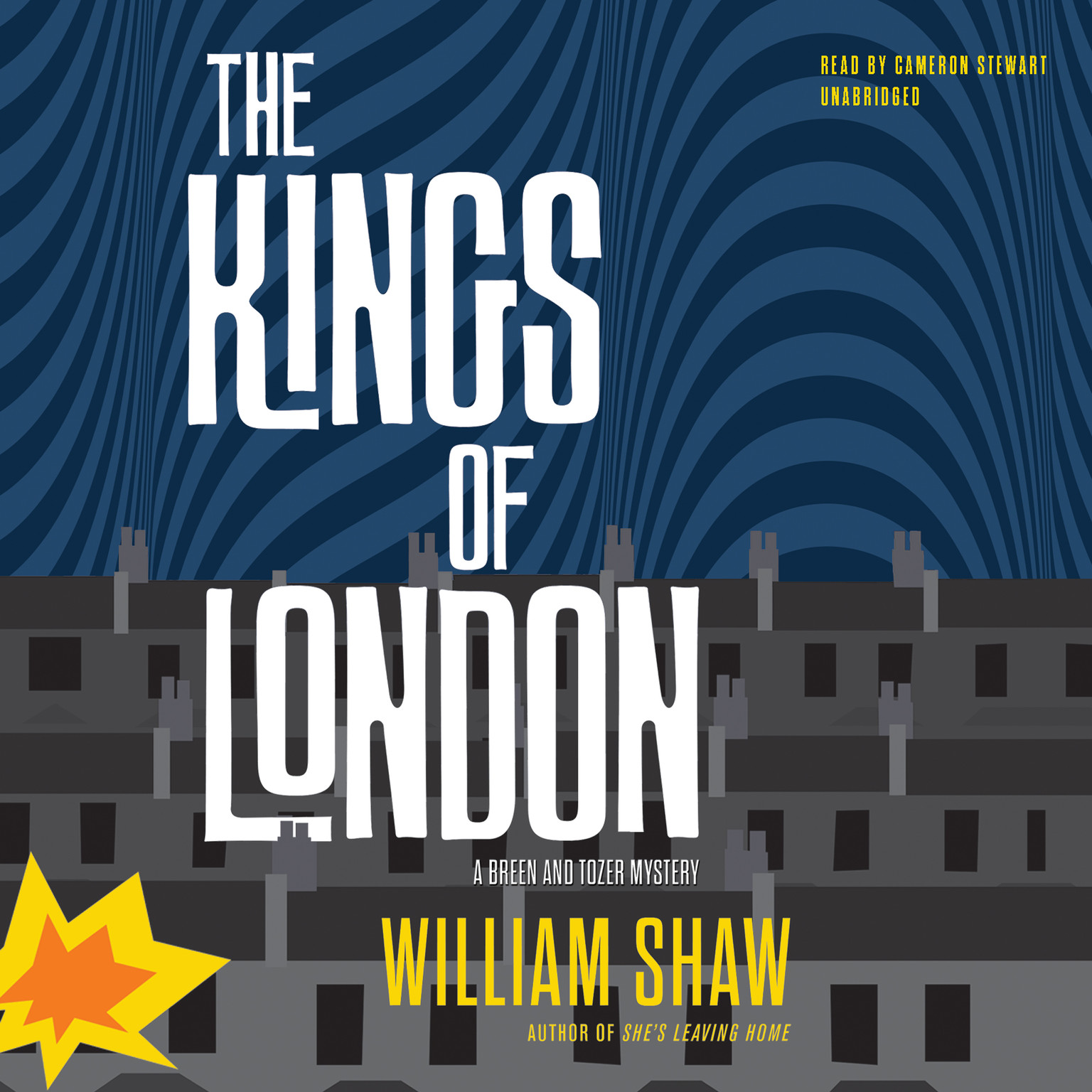 Printable The Kings of London Audiobook Cover Art