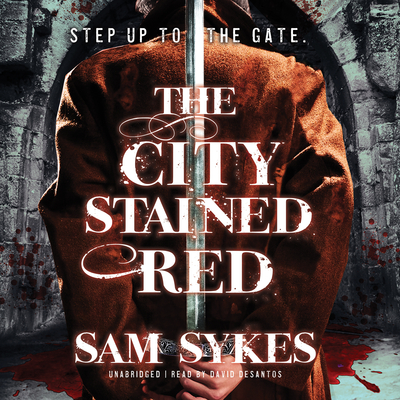 The City Stained Red Audiobook, by Sam Sykes