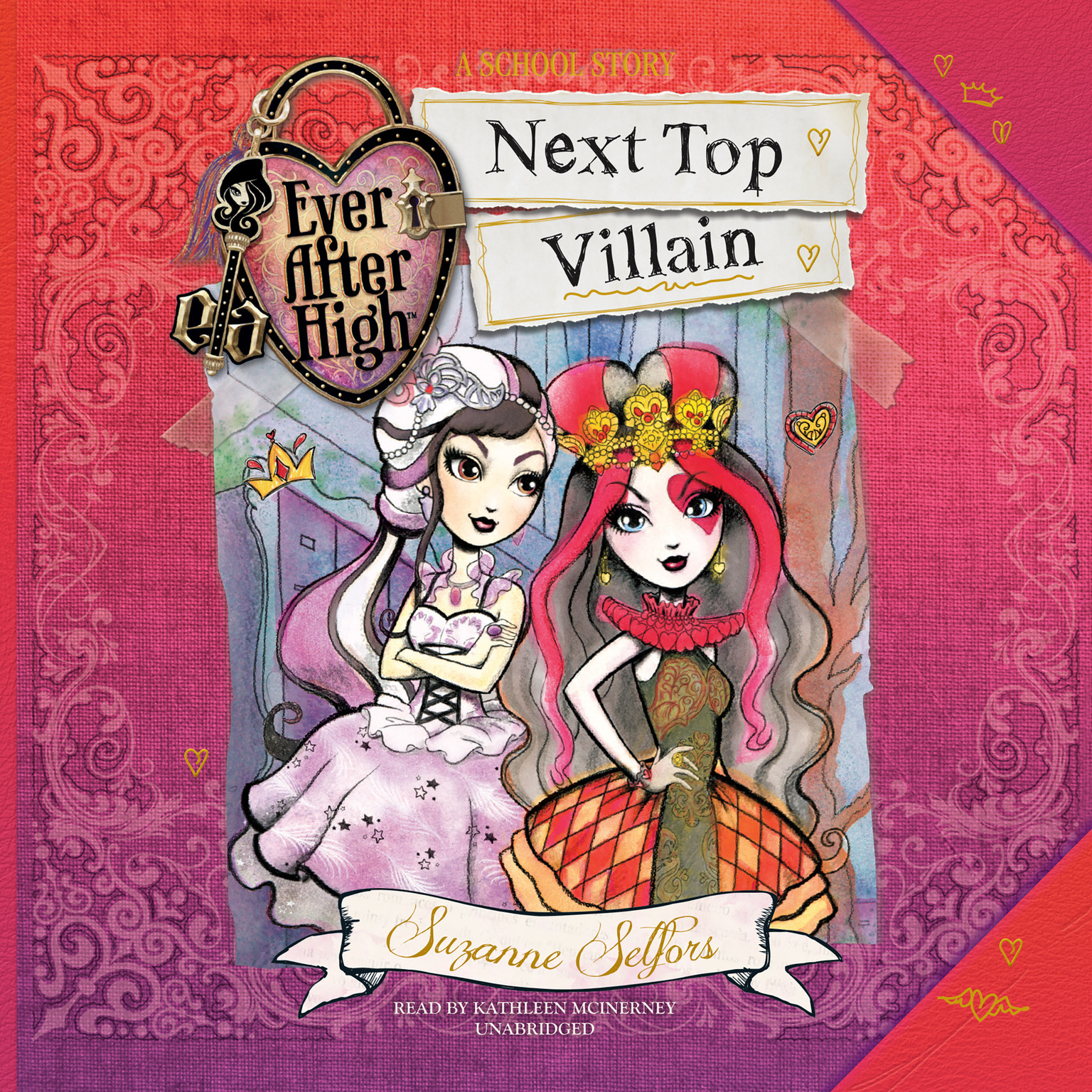 Printable Ever After High: Next Top Villain Audiobook Cover Art