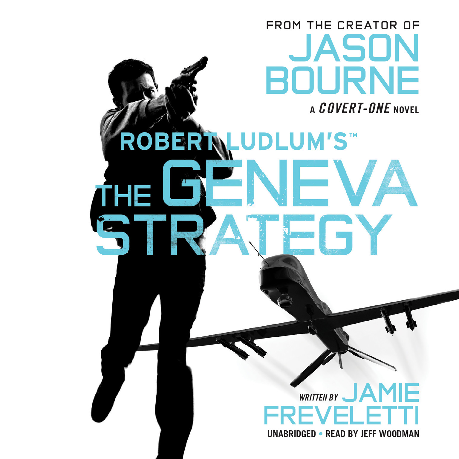 Printable Robert Ludlum's™ The Geneva Strategy Audiobook Cover Art