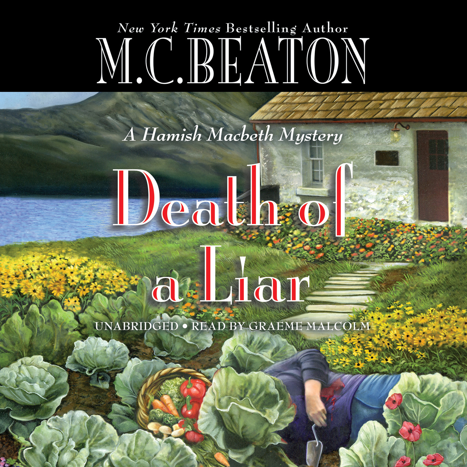 Printable Death of a Liar Audiobook Cover Art