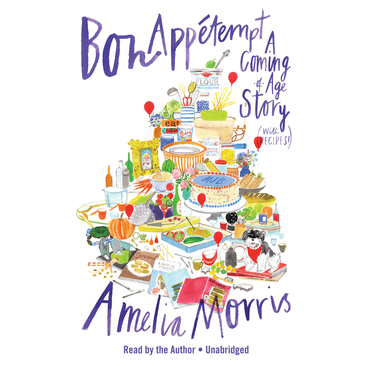 Printable Bon Appétempt: A Coming-of-Age Story (with Recipes!) Audiobook Cover Art