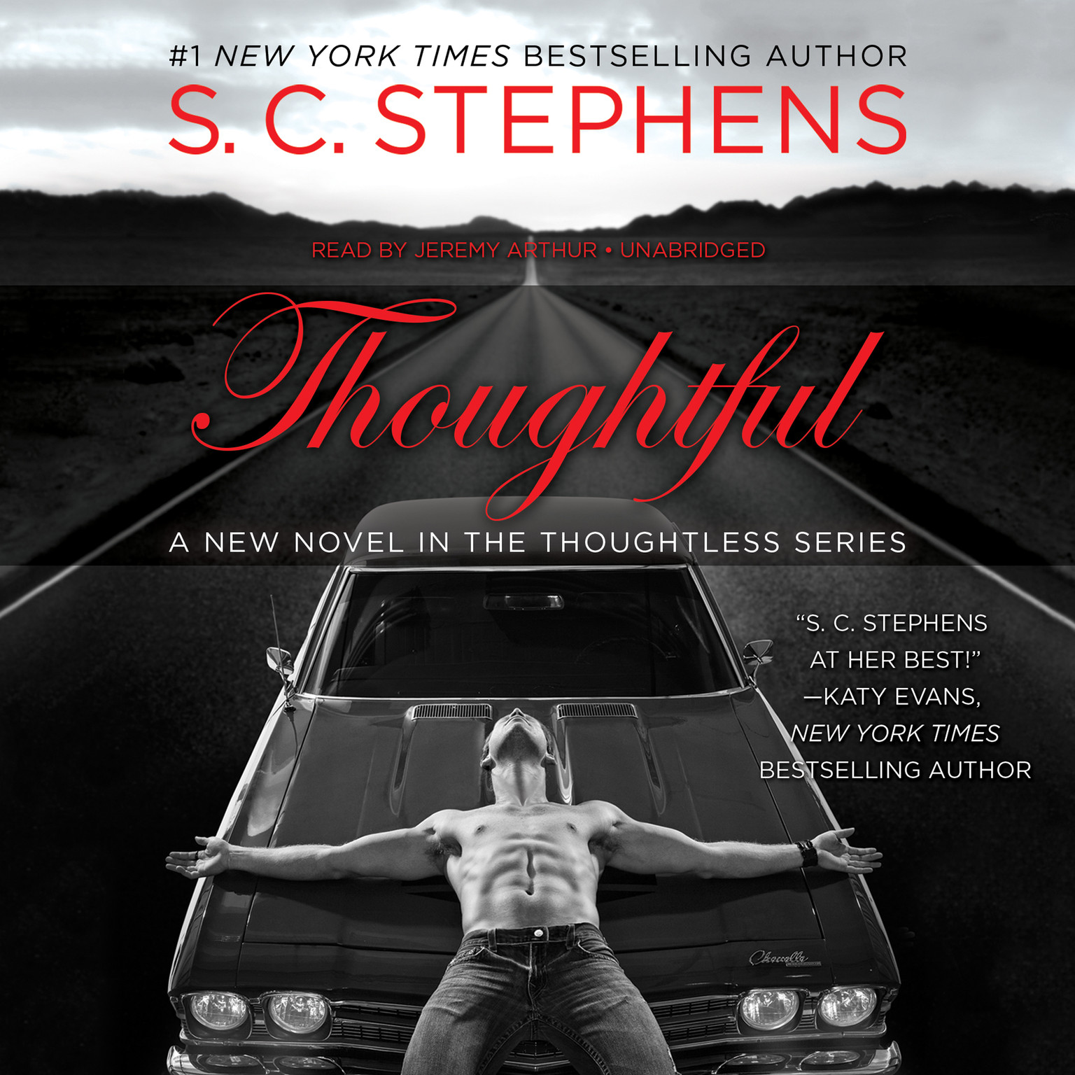 Printable Thoughtful Audiobook Cover Art