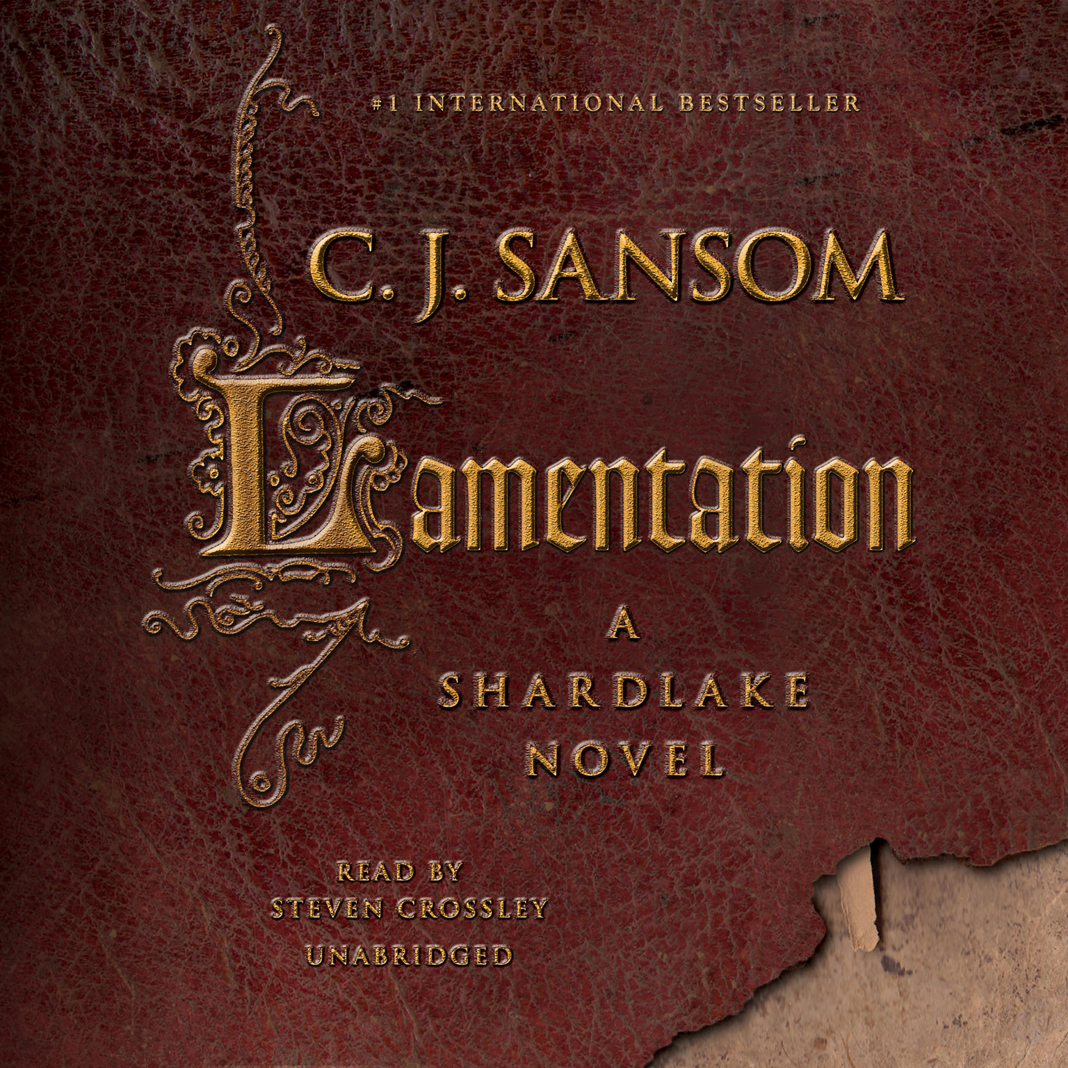 Printable Lamentation Audiobook Cover Art