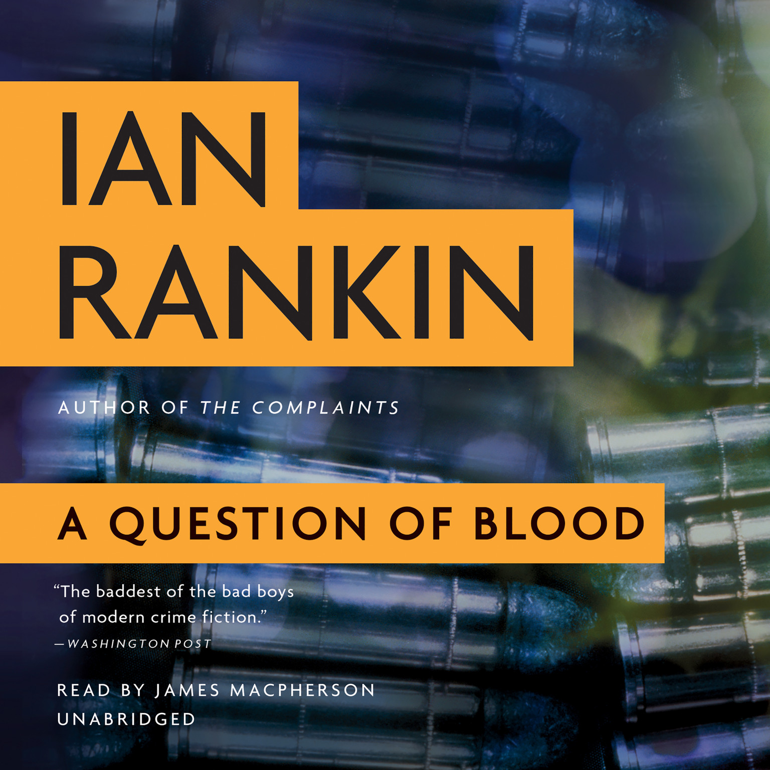 Printable A Question of Blood: An Inspector Rebus Novel Audiobook Cover Art