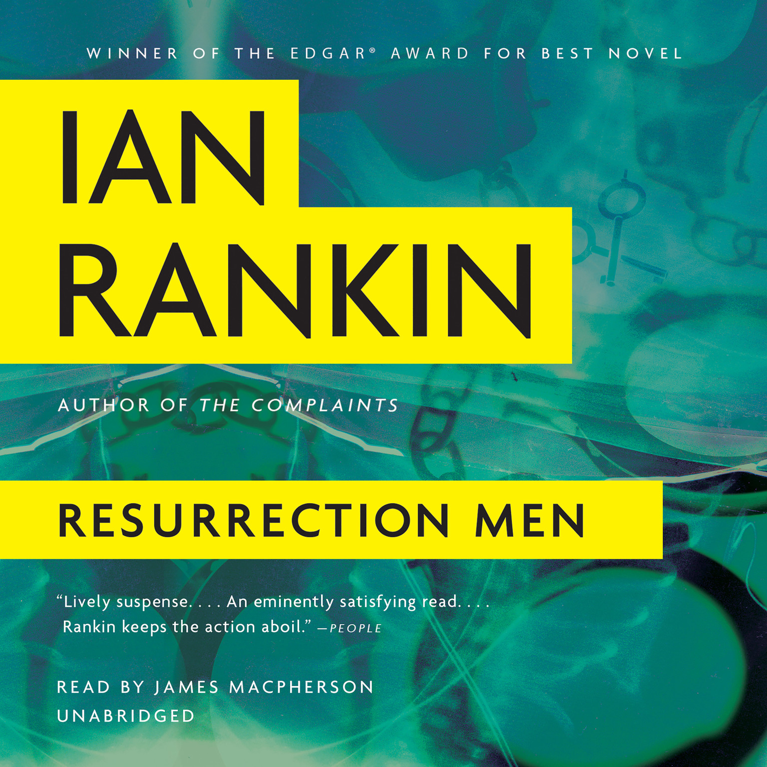 Printable Resurrection Men Audiobook Cover Art
