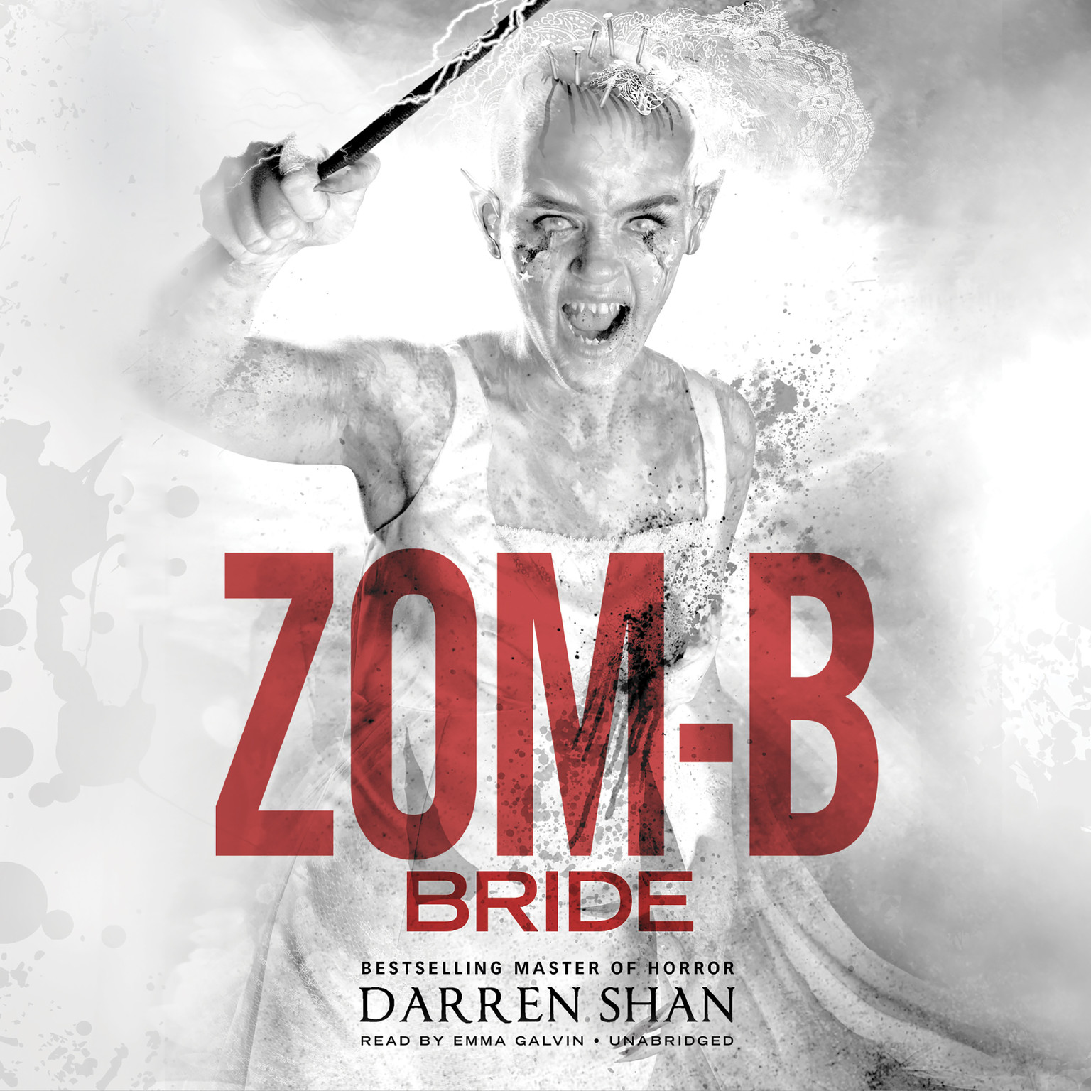 Printable Zom-B Bride Audiobook Cover Art