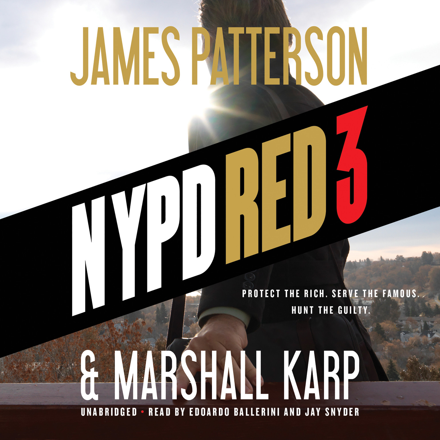 Printable NYPD Red 3 Audiobook Cover Art