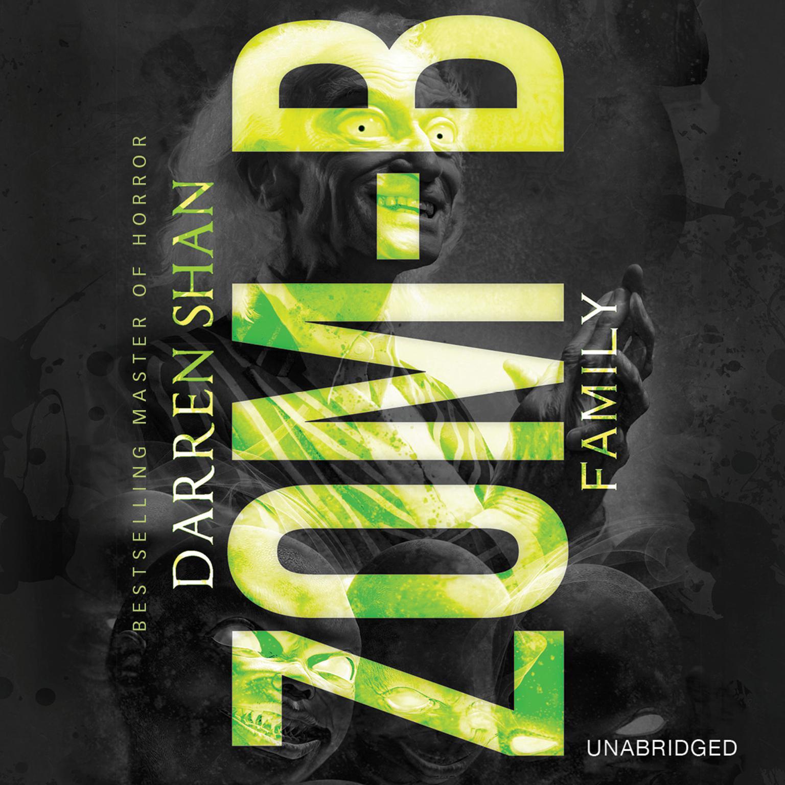 Printable Zom-B Family Audiobook Cover Art