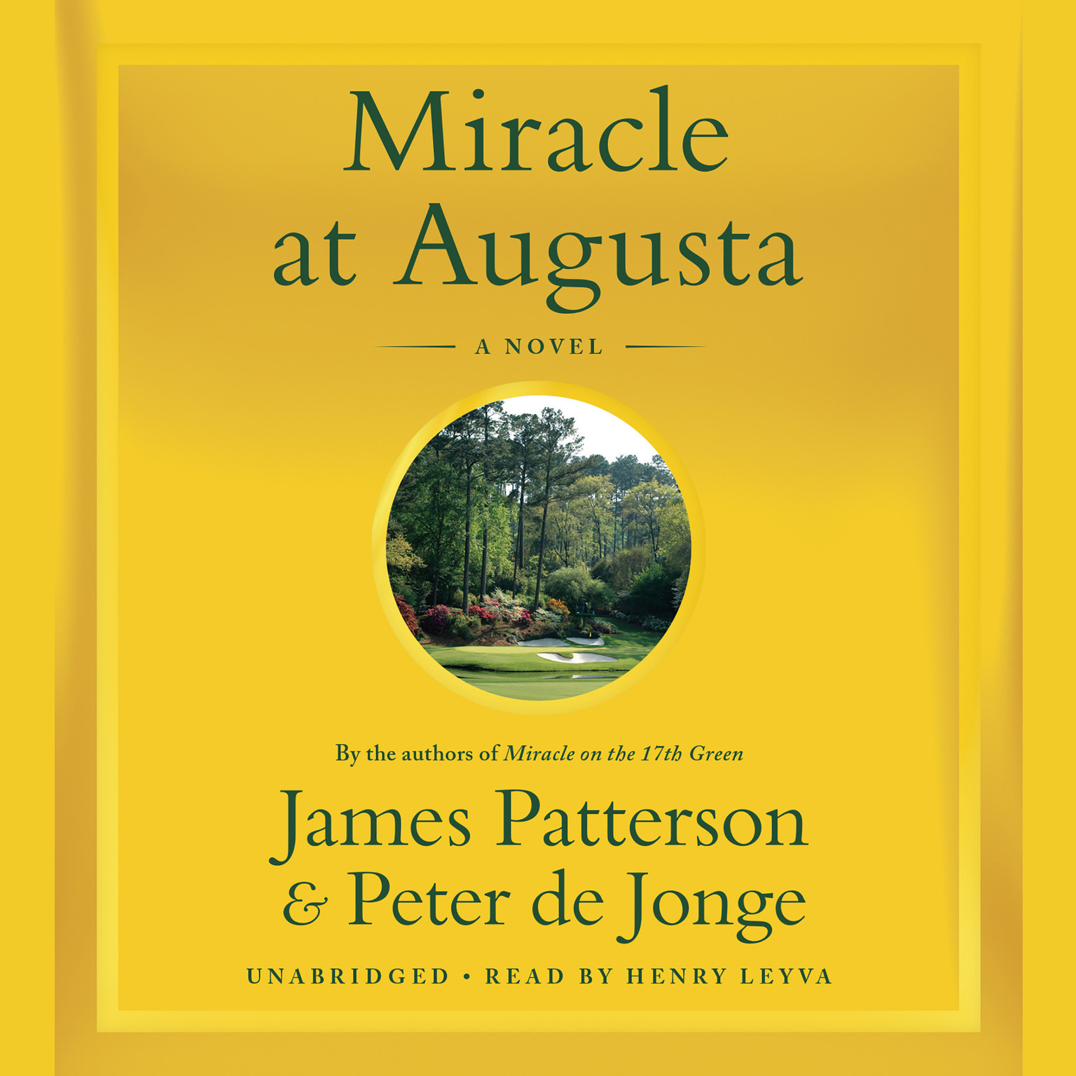 Printable Miracle at Augusta Audiobook Cover Art