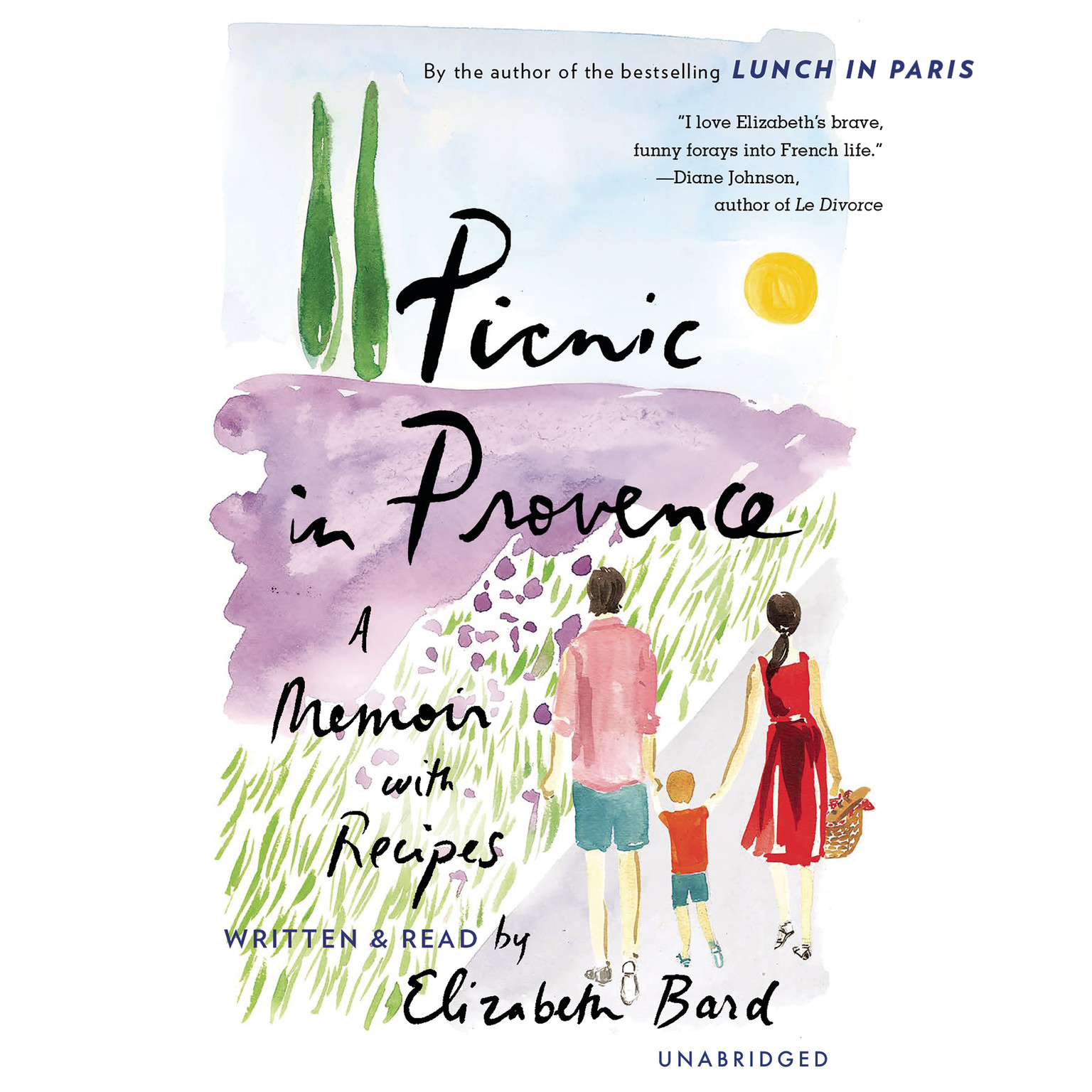 Printable Picnic in Provence: A Memoir with Recipes Audiobook Cover Art