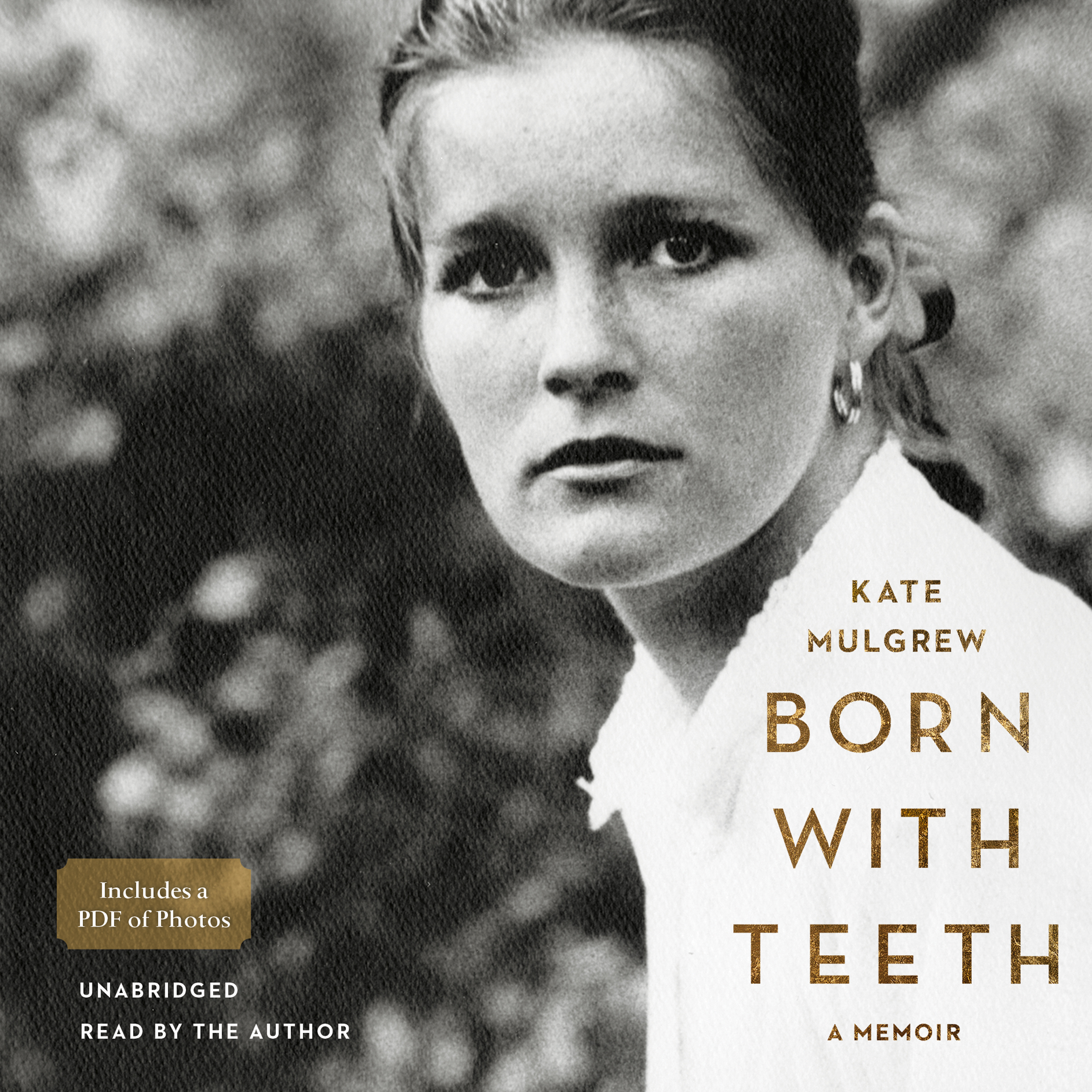Printable Born with Teeth: A Memoir Audiobook Cover Art