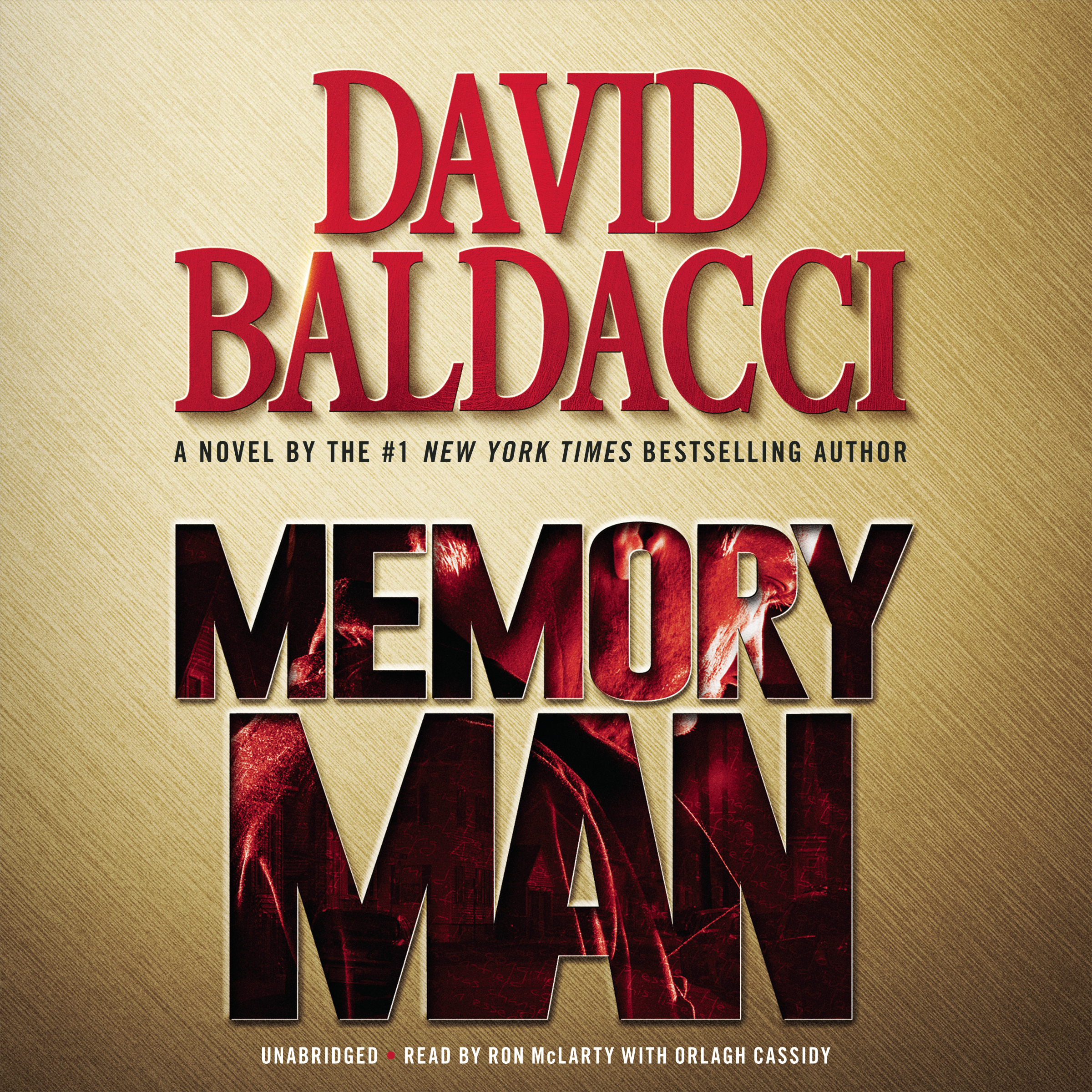 Printable Memory Man Audiobook Cover Art