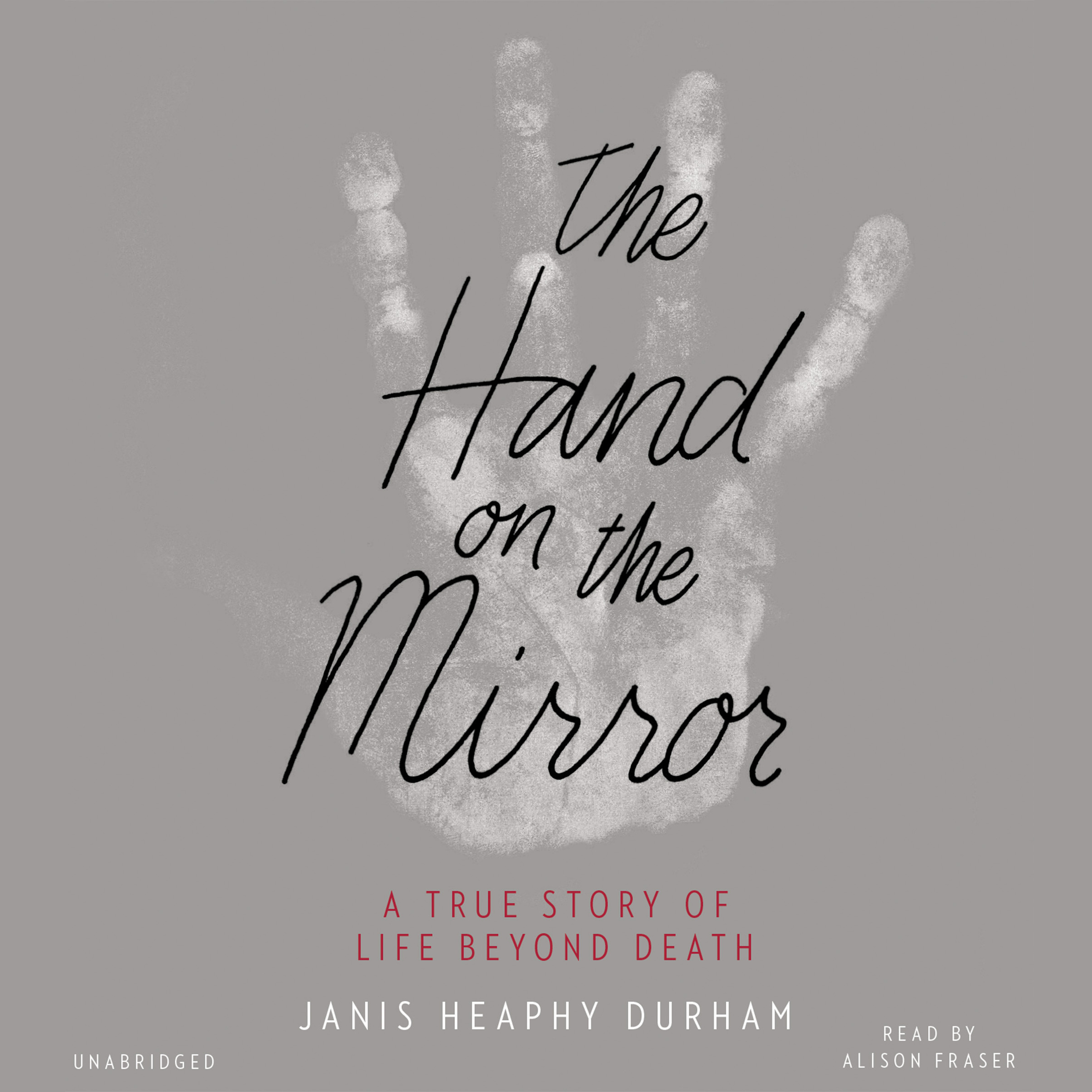 Printable The Hand on the Mirror: A True Story of Life Beyond Death Audiobook Cover Art