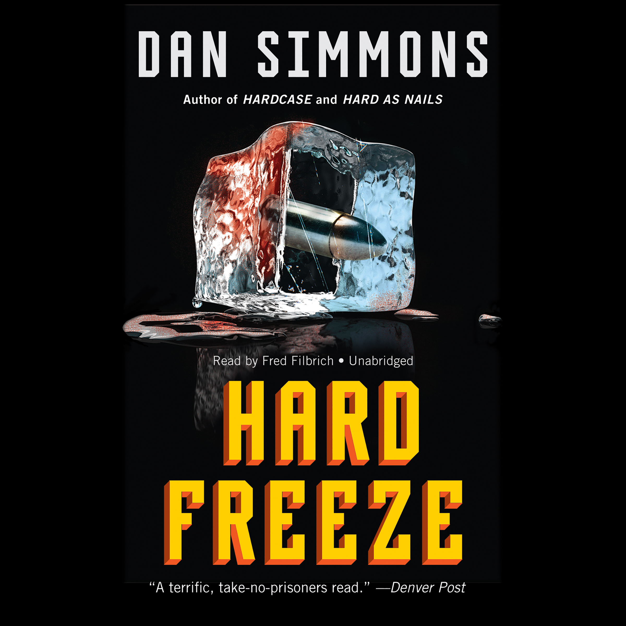 Printable Hard Freeze Audiobook Cover Art