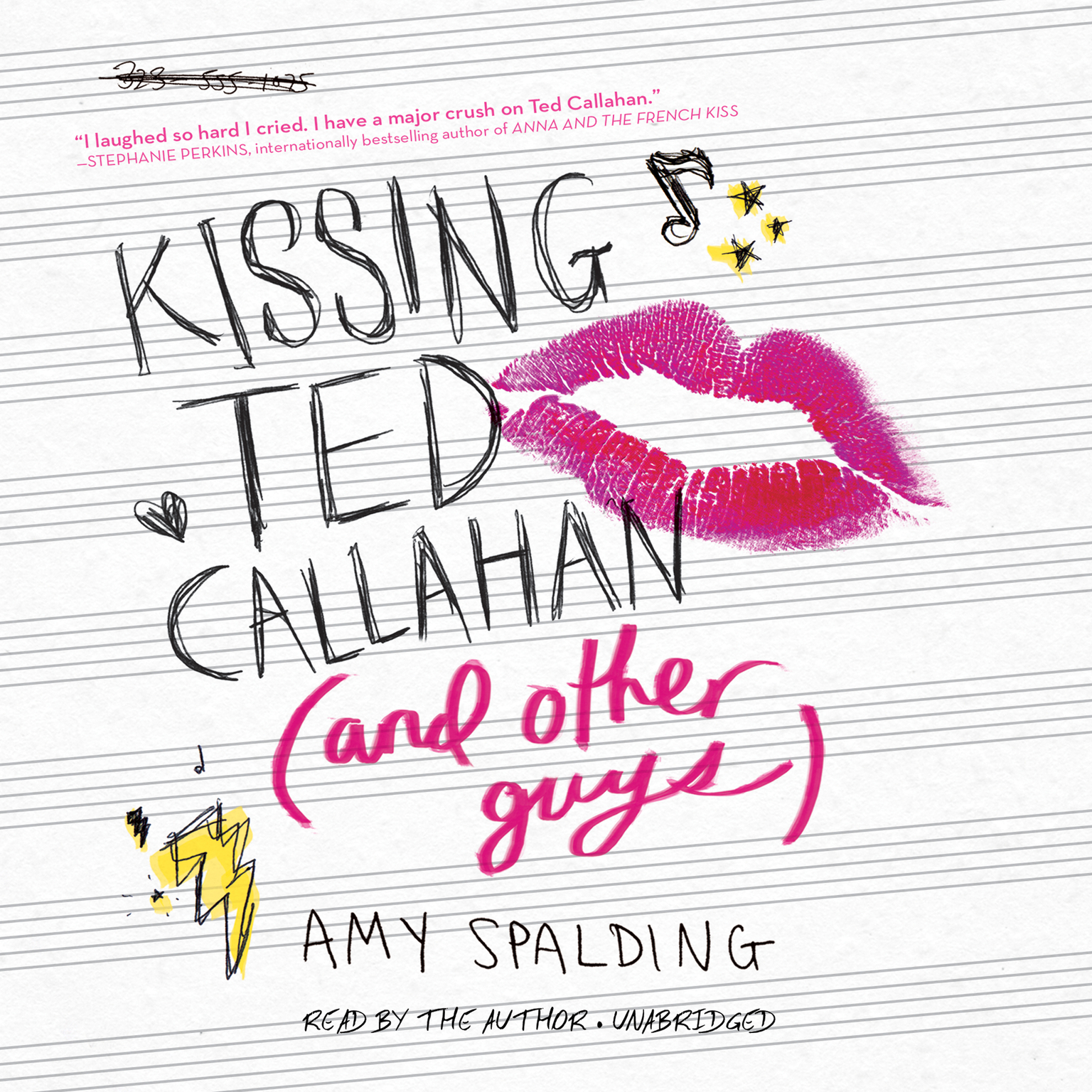 Printable Kissing Ted Callahan (and Other Guys) Audiobook Cover Art