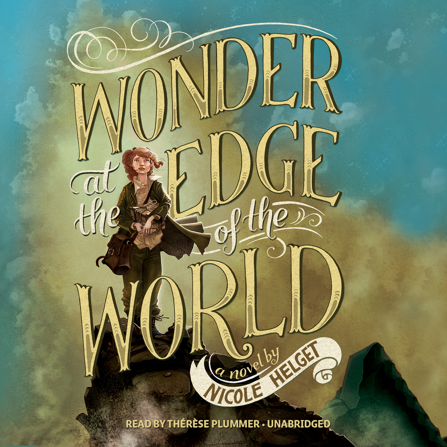 Printable Wonder at the Edge of the World Audiobook Cover Art