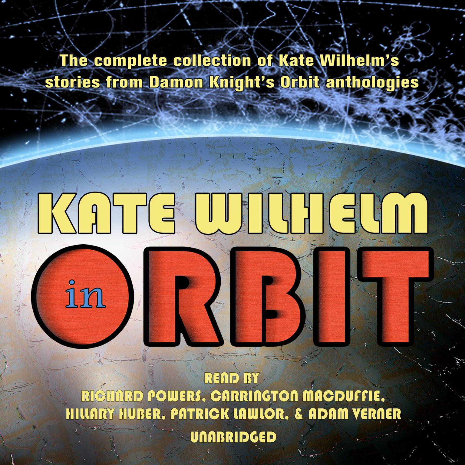 Printable Kate Wilhelm in Orbit Audiobook Cover Art