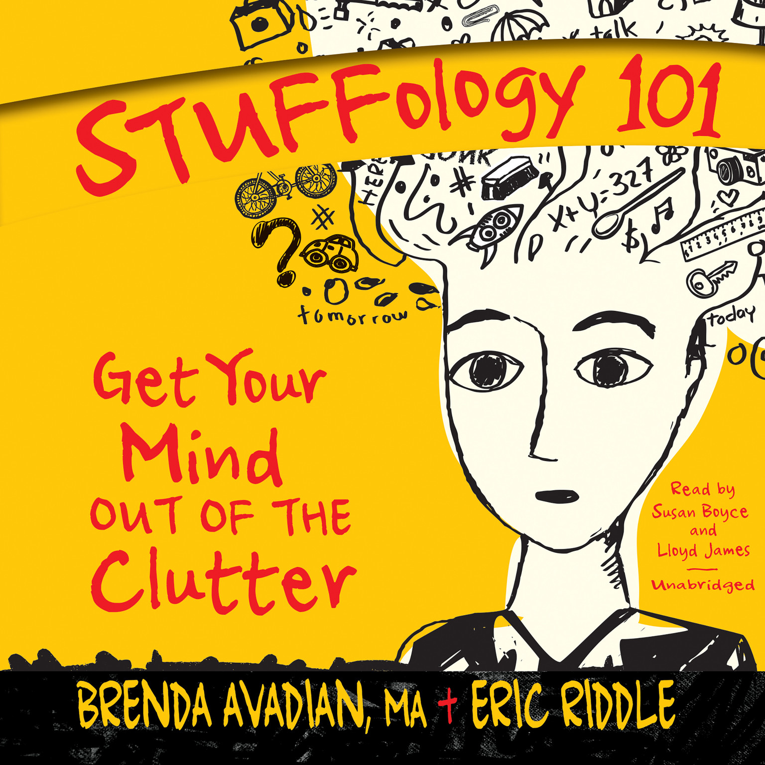 Printable Stuffology 101: Get Your Mind out of the Clutter Audiobook Cover Art
