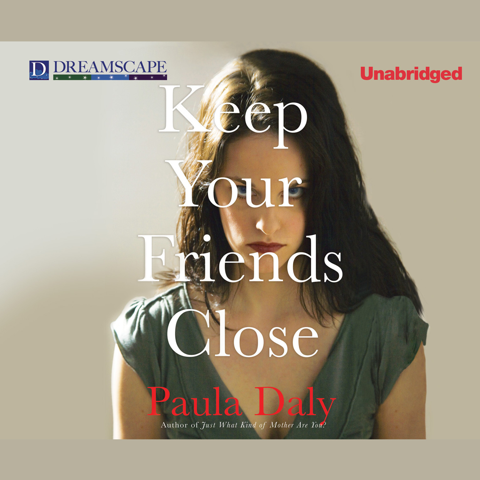Printable Keep Your Friends Close Audiobook Cover Art